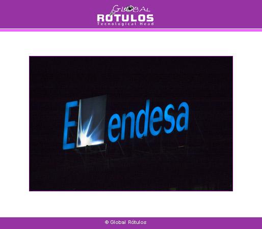 carteles luminosos en Madrid