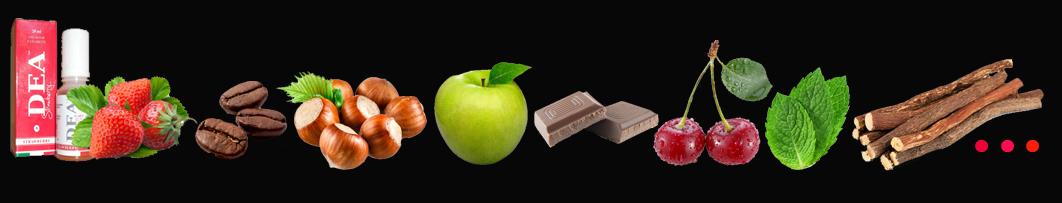 sabores e-liquidos cigarrillo electronico
